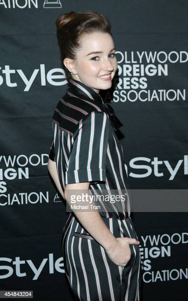 Kaitlyn Dever arrives at the HFPA InStyle's 2014 TIFF Celebration held during the 2014 Toronto International Film Festival on September 6 2014 in...