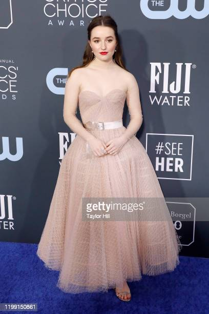 Kaitlyn Dever attends the 25th Annual Critics' Choice Awards at Barker Hangar on January 12 2020 in Santa Monica California