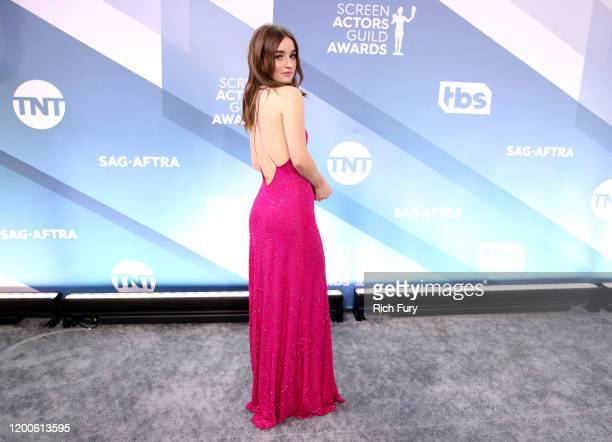 Kaitlyn Dever attends the 26th Annual Screen ActorsGuild Awards at The Shrine Auditorium on January 19, 2020 in Los Angeles, California.