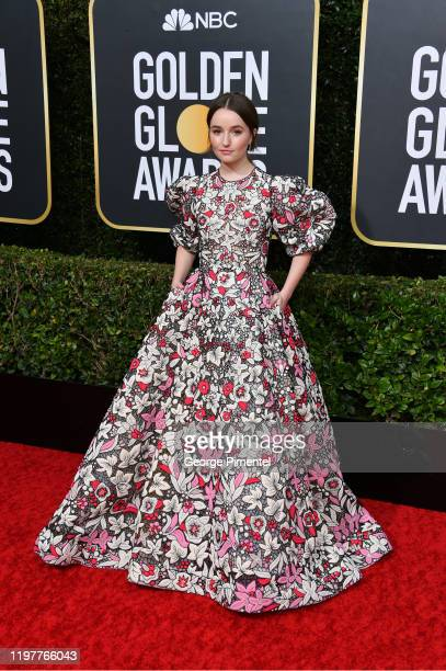 Kaitlyn Dever attends the 77th Annual Golden Globe Awards at The Beverly Hilton Hotel on January 05 2020 in Beverly Hills California