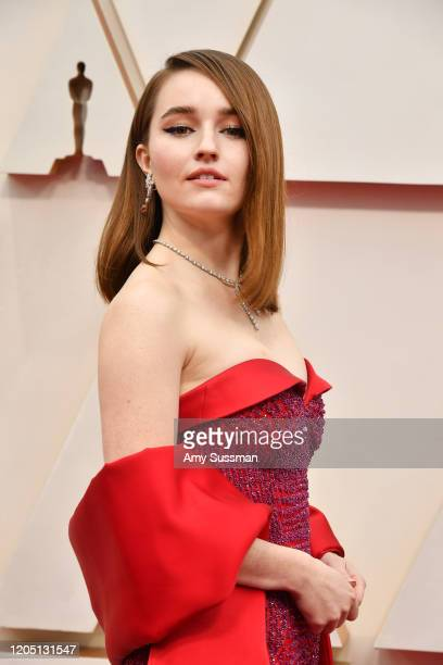 Kaitlyn Dever attends the 92nd Annual Academy Awards at Hollywood and Highland on February 09 2020 in Hollywood California