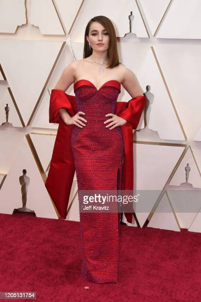 Kaitlyn Dever attends the 92nd Annual Academy Awards at Hollywood and Highland on February 09, 2020 in Hollywood, California.