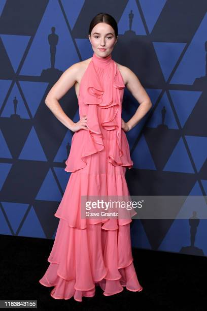 Kaitlyn Dever attends the Academy Of Motion Picture Arts And Sciences' 11th Annual Governors Awards at The Ray Dolby Ballroom at Hollywood & Highland...
