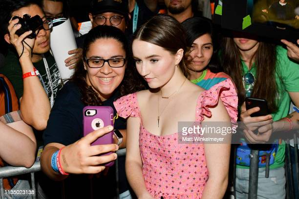 Kaitlyn Dever attends the Booksmart Premiere 2019 SXSW Conference and Festivals at Paramount Theatre on March 10 2019 in Austin Texas