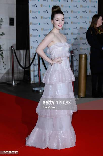 Kaitlyn Dever attends the EE British Academy Film Awards 2020 After Party at The Grosvenor House Hotel on February 02, 2020 in London, England.
