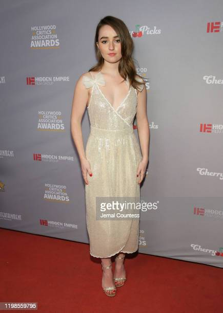 Kaitlyn Dever attends the Hollywood Critics Awards at Taglyan Complex on January 09 2020 in Los Angeles California