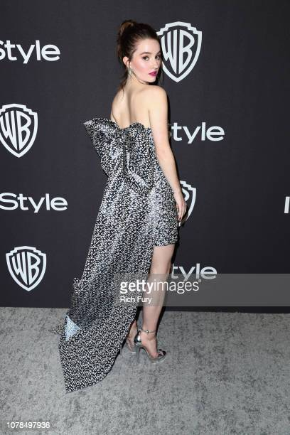Kaitlyn Dever attends the InStyle And Warner Bros Golden Globes After Party 2019 at The Beverly Hilton Hotel on January 6 2019 in Beverly Hills...
