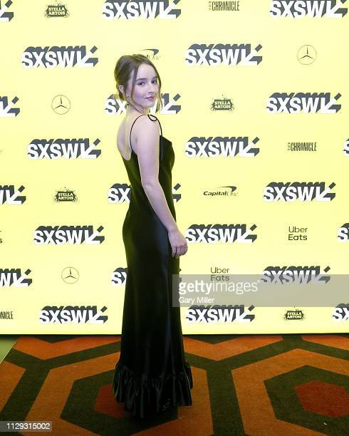 Kaitlyn Dever attends the premiere of Them That Follow at the Alamo Drafthouse South Lamar during the 2019 SXSW Conference And Festival on March 8...