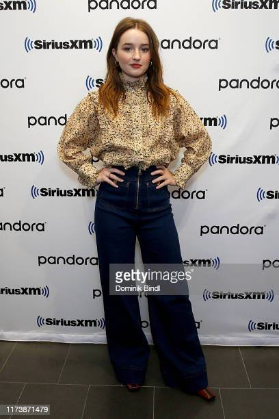 Kaitlyn Dever visits SiriusXM Studios on September 11, 2019 in New York City.