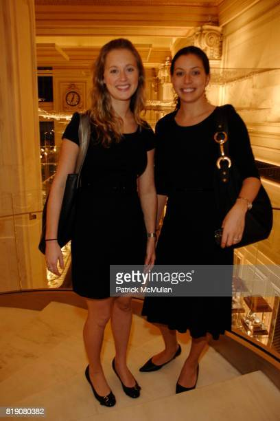 Kaitlyn Flesher and Jenn Tucker attend Tiffany Co And The Wall Street Journal host Cocktails at Tiffany at Tiffany Fifth Avenue on March 18 2010 in...