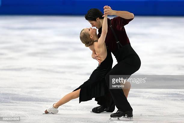 Kaitlyn / POJE Andrew CAN Eistanz Kür ice dance free Eiskunstlaufen Figure skating olympic winter games 2014 sochi olympische Spiele winterspiele in...