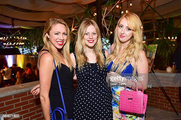 Kaitlyn Sullivan Ashley Weinaug and Maggie O'Connor attend NYC Celebrities Attend the Paper Factory Hotel's 3rd Annual Summer Party at Paper Factory...