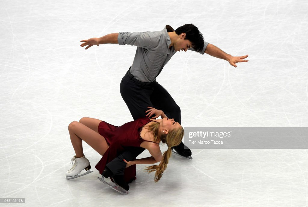 World Figure Skating Championships in Milano : News Photo