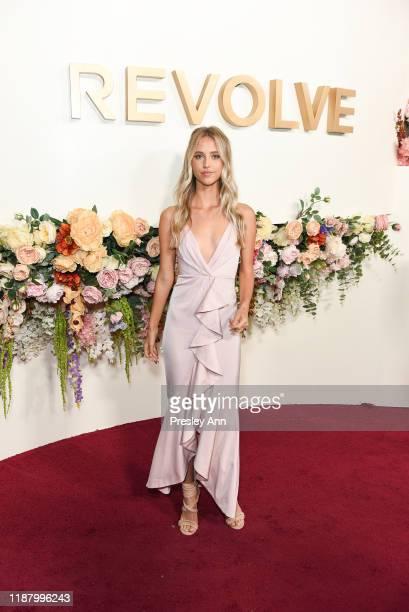 Kaitlynn Bell attends 3rd Annual #REVOLVEawards at Goya Studios on November 15 2019 in Hollywood California