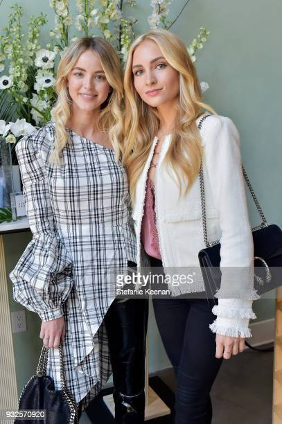 Kaitlynn Carter and Sophie Elkus attend Summer Fridays Skincare Launch With Marianna Hewitt Lauren Gores Ireland at Hayden on March 15 2018 in Culver...