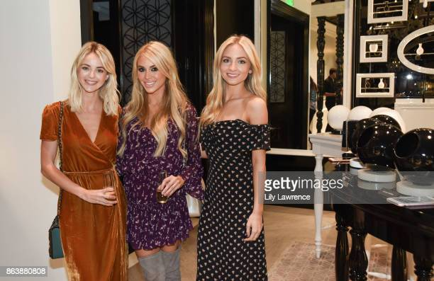 Kaitlynn Carter Annie Lawless Jacobs and Sophie Elkus attend ELLE The Harmonist celebrate fragrance and feng shui on October 12 2017 in Los Angeles...