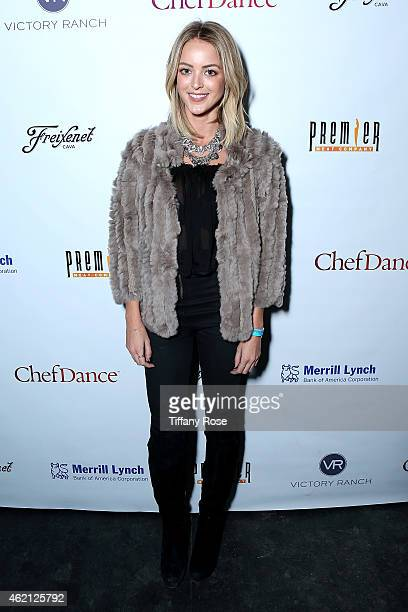 Kaitlynn Carter attends ChefDance 2015 Presented By Victory Ranch And Sponsored By Merrill Lynch, Freixenet And Anchor Distilling at Sundance Film...