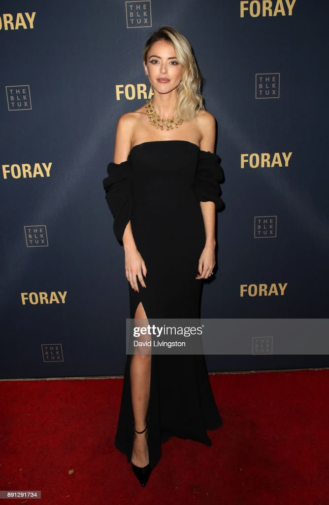 Kaitlynn Carter attends FORAY Collective and The Black Tux Host Holiday Gala on December 12, 2017 in Los Angeles, California.