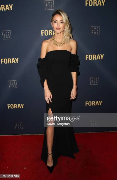 Kaitlynn Carter attends FORAY Collective and The Black Tux Host Holiday Gala on December 12 2017 in Los Angeles California