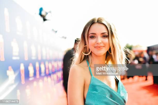 Kaitlynn Carter attends the 2019 MTV Movie and TV Awards at Barker Hangar on June 15 2019 in Santa Monica California