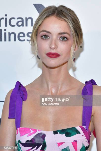Kaitlynn Carter attends the 27th annual Elton John AIDS Foundation Academy Awards Viewing Party celebrating EJAF and the 91st Academy Awards on...