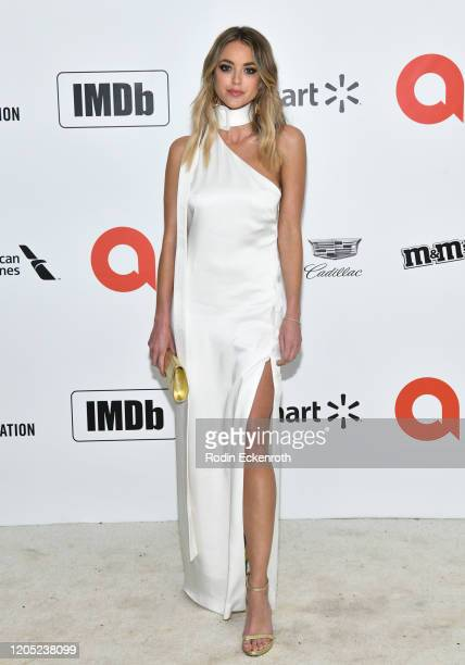 Kaitlynn Carter attends the 28th Annual Elton John AIDS Foundation Academy Awards Viewing Party Sponsored By IMDb And Neuro Drinks on February 09,...