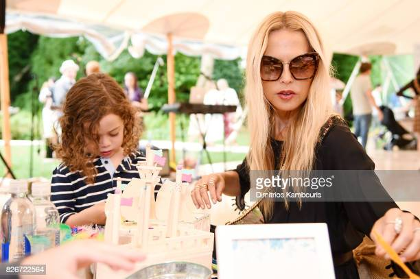 Kaius Jagger Berman and Rachel Zoe attend as the Honest Company and The GREAT celebrate The GREAT Adventure on August 5 2017 in East Hampton New York