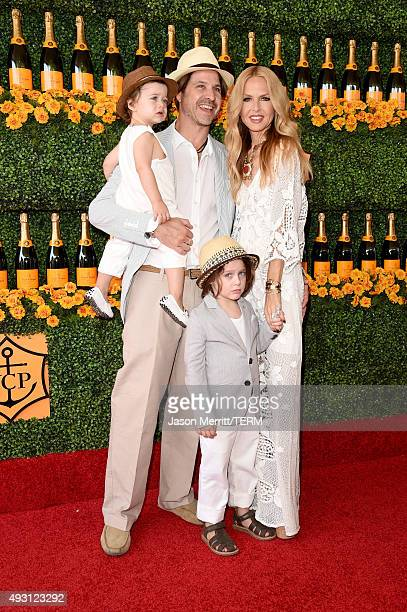 Kaius Jagger Berman Rodger Berman Skyler Morrison Berman and Rachel Zoe attend the SixthAnnual Veuve Clicquot Polo Classic at Will Rogers State...