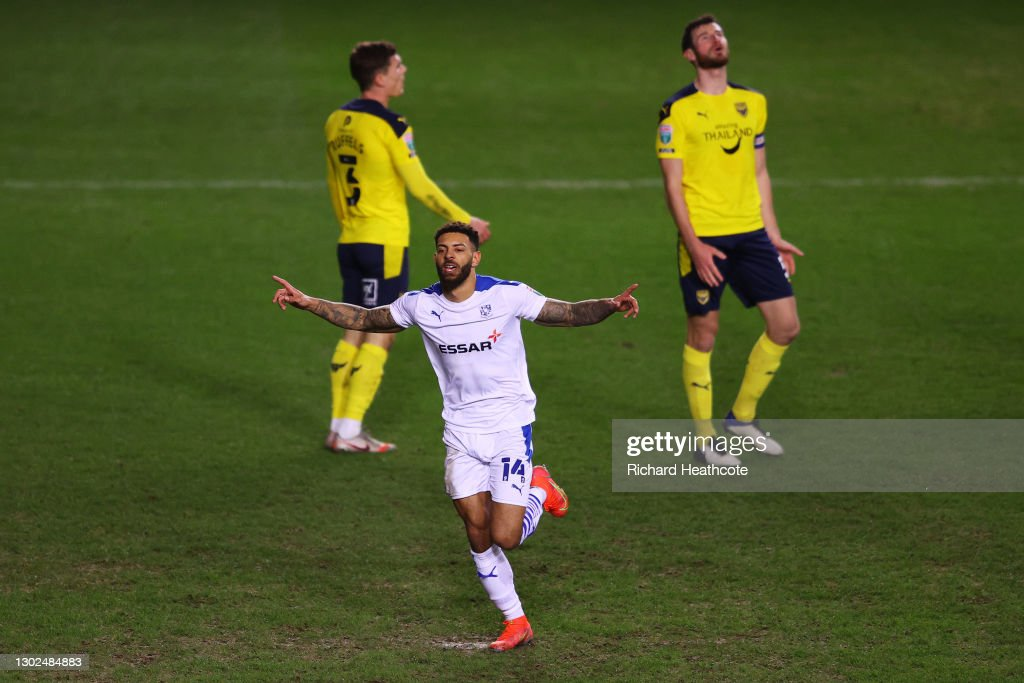 Oxford United v Tranmere Rovers - Papa John's Trophy : News Photo