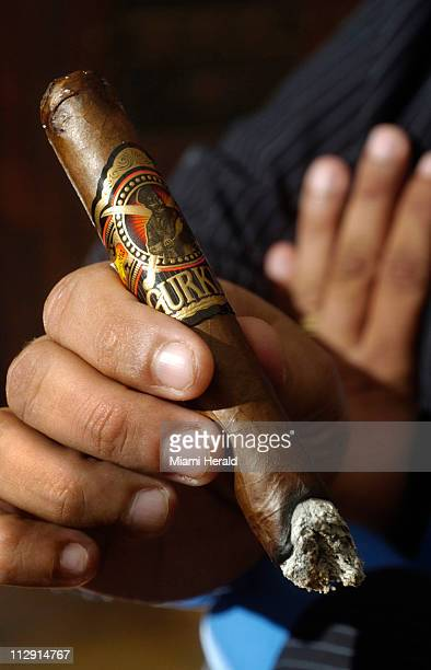 Kaizad Hansotia's Gurkha cigars are a favorite among celebrity puffers