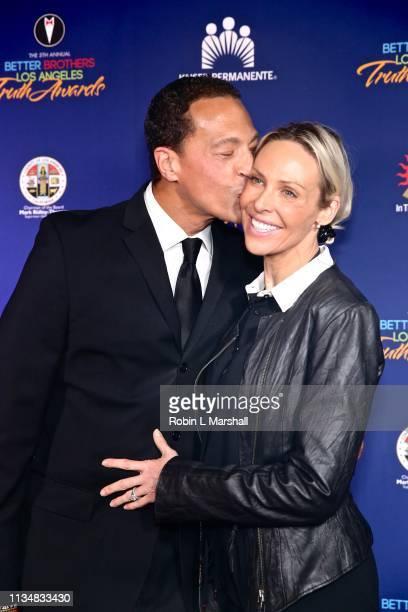 Kaj Goldberg and Carolina Goldberg attend the 5th Annual Truth Awards at Taglyan Cultural Complex on March 09 2019 in Hollywood California