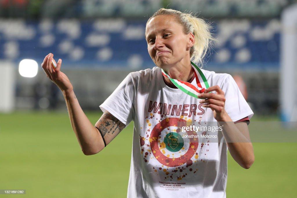 AC Milan v AS Roma Women - TIMVISION Women Cup Final : News Photo