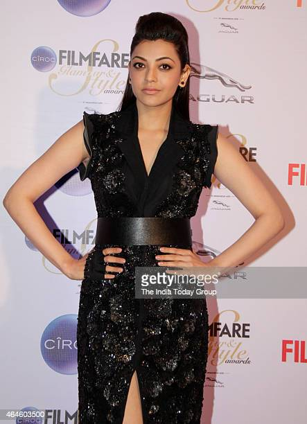 Kajal Aggarwal at Ciroc Filmfare Glamour and style awards in Mumbai