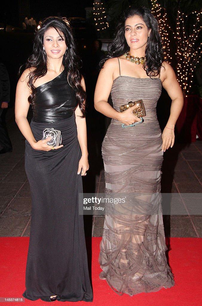 Kajol and Tanisha during Karan Johar 40th birthday party held at Taj Lands End in Mumbai on May 25 2012