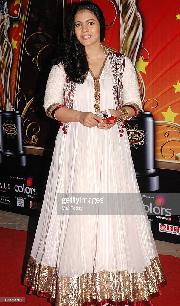 Kajol attends the Balaji Television `Global Indian Film and Television Honors Awards 2011` ceremony in Mumbai