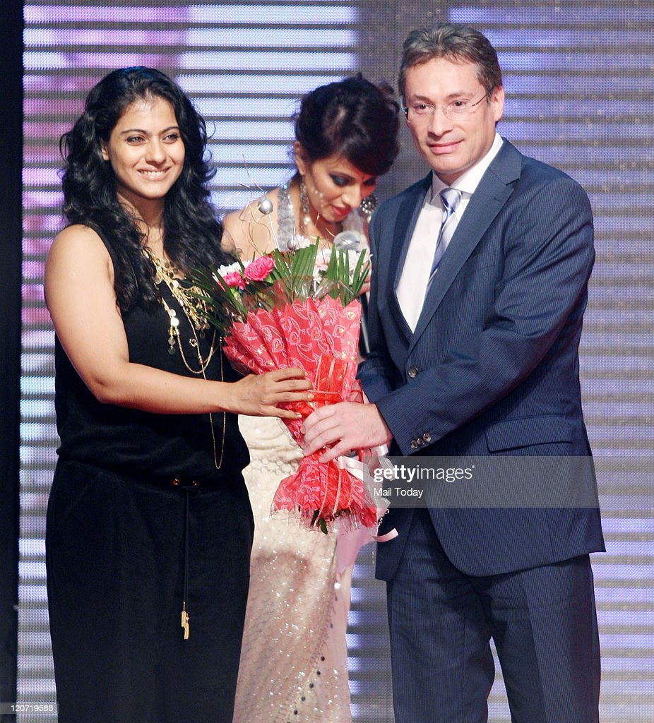 Kajol during Gems Vision 2012 hosted by Swarovski Gems Fashion Show held on Sunday in Mumbai