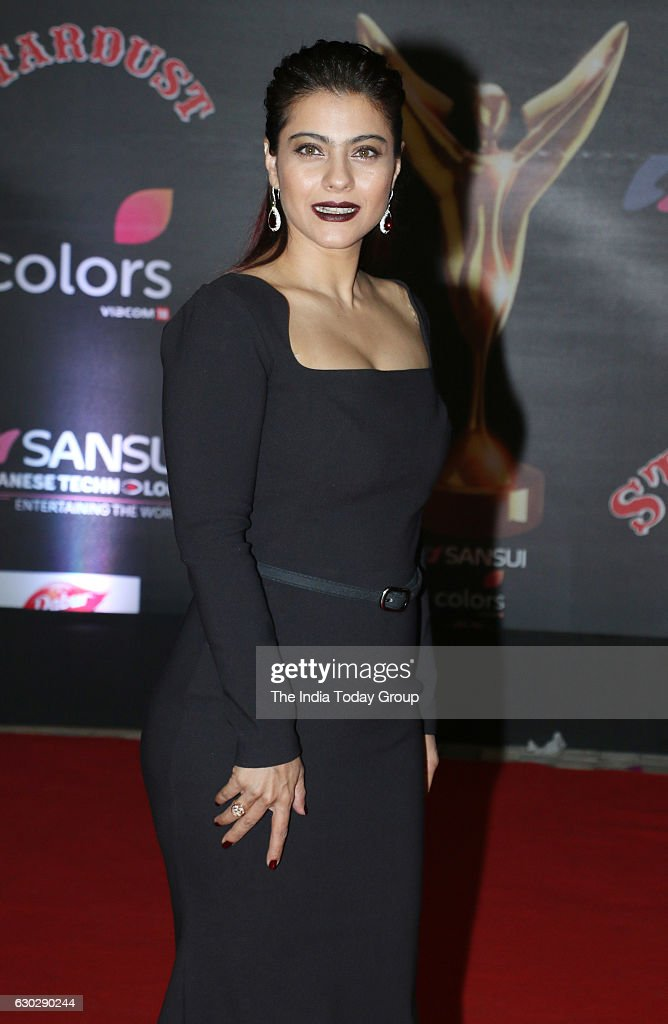 Kajol during Sansui Colors Stardust Awards 2016 in Mumbai
