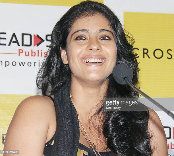 Kajol grace the launch of the 'Champa' series by Lead Start Publishing at Crossword Mumbai on July18 2011
