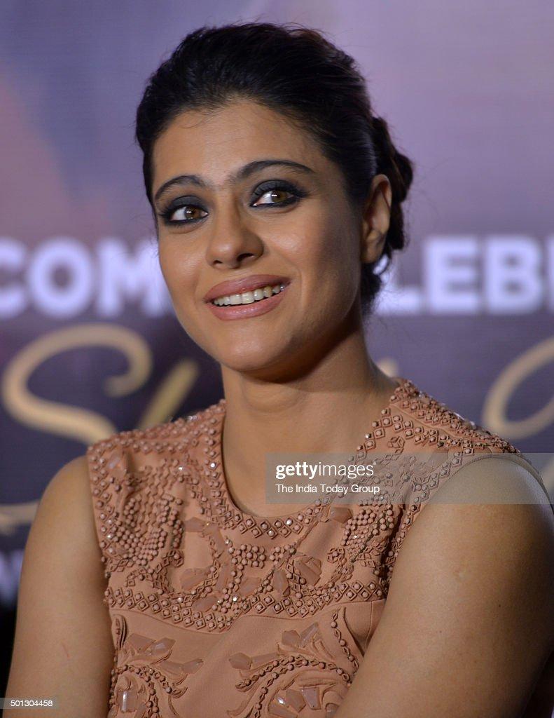 Kajol promoting her upcoming movie `Dilwale` in Mumbai