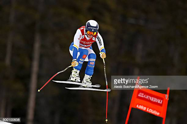 Kajsa Kling of Sweden competes during the Audi FIS Alpine Ski World Cup Women's Downhill on December 05 2015 in Lake Louise Canada