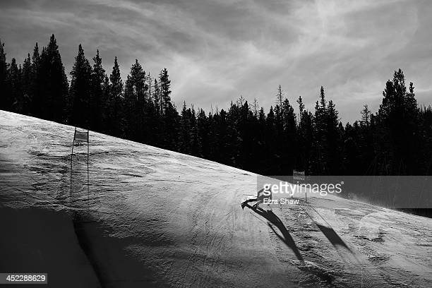 Kajsa Kling of Sweden in action during day 2 of training on Raptor for the FIS Beaver Creek Ladies Downhill World Cup on November 27 2013 in Beaver...