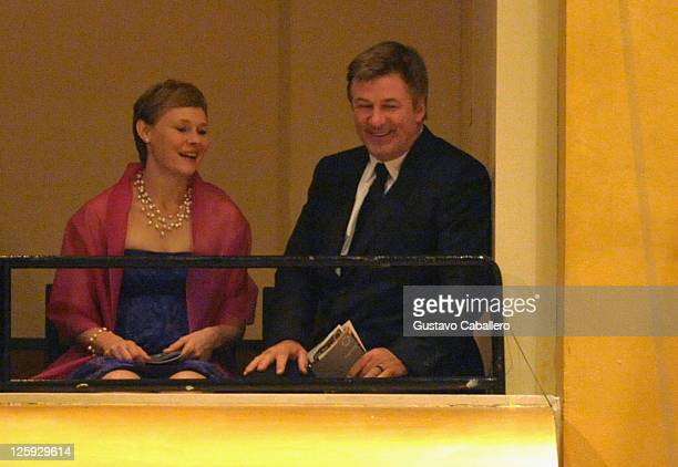 Kajsa WilliamOlsson and Alec Baldwin attends the New York Philharmonic 170th Season Opening Night Gala at Avery Fisher Hall at Lincoln Center for the...