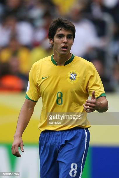 Kaka Achtelfinale Spiel 55 Brasilien gegen Ghana Fifa Fussball Weltmeisterschaft in Deutschland 2006 FIFA world cup football in germany 2006 WM