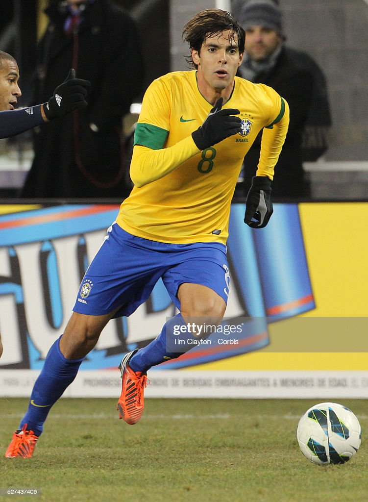 Brazil V Colombia International friendly football match at MetLife Stadium, New Jersey. USA : News Photo