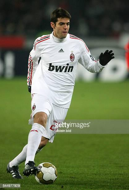 Kaka Football Midfielder AC Milan Brazil in action on the ball
