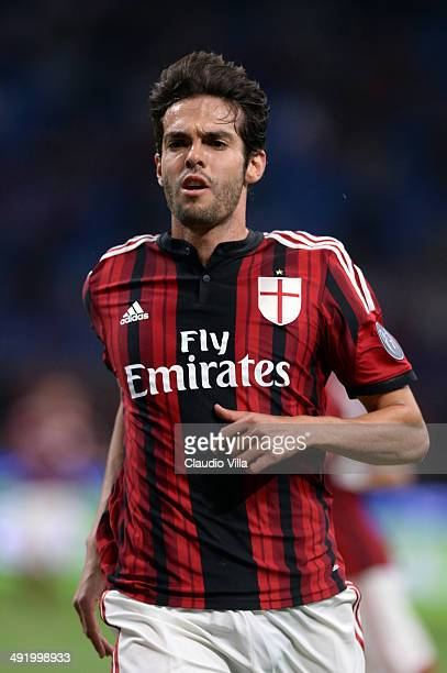 Kaka of AC Milan is seen during the Serie A match between AC Milan and US Sassuolo Calcio at San Siro Stadium on May 18 2014 in Milan Italy