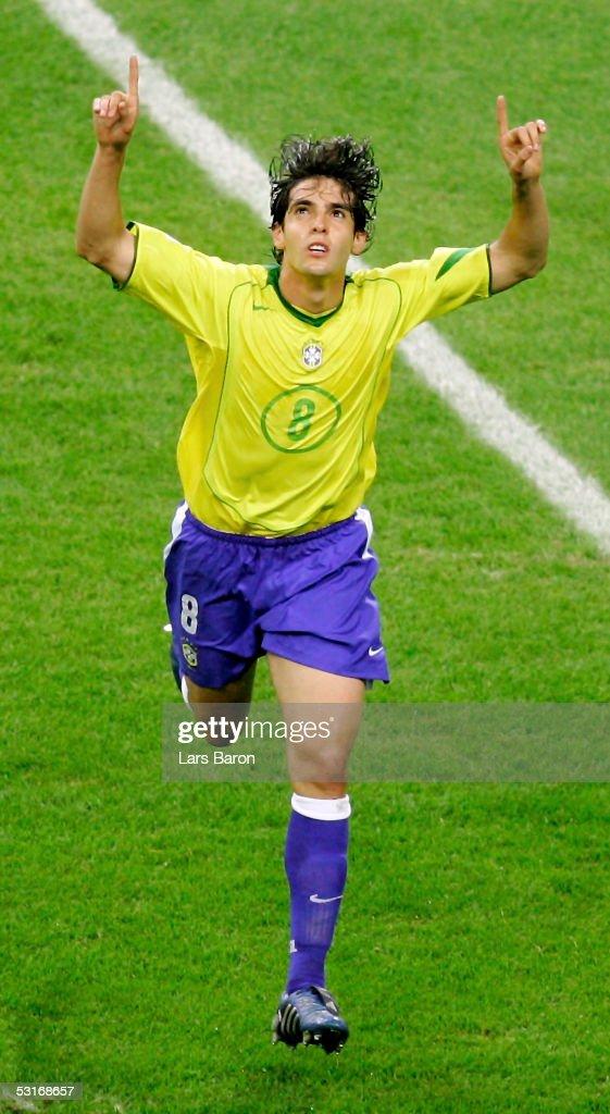 FIFA Confederations Cup 2005 Final Brazil v Argentina : News Photo