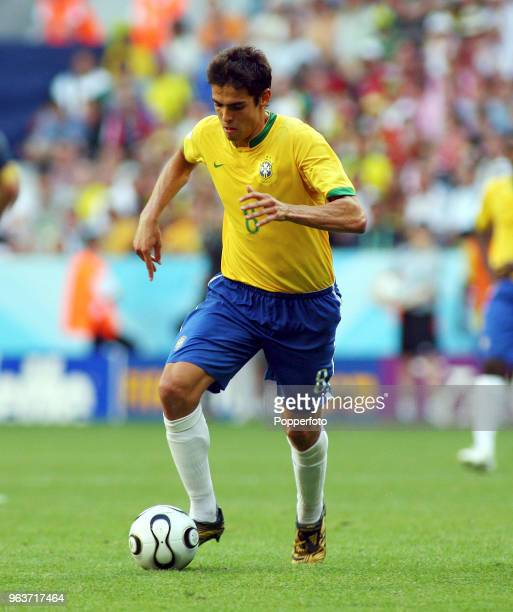 Kaka of Brazil in action during the FIFA World Cup Group F match between Brazil and Australia at the FIFA WMStadion in Munich on June 18 2006 Brazil...
