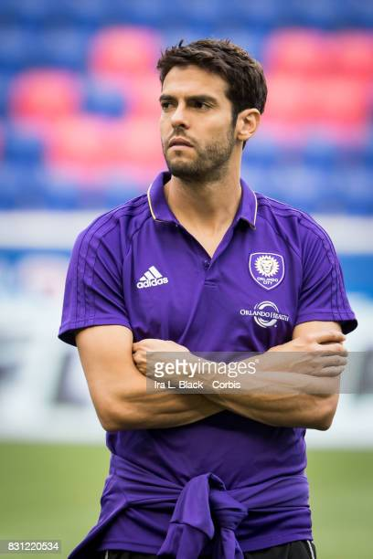 Kaka of Orlando City SC prior to the MLS match between New York Red Bulls and Orlando City SC at the Red Bull Arena on August 12 2017 in HARRISON NJ