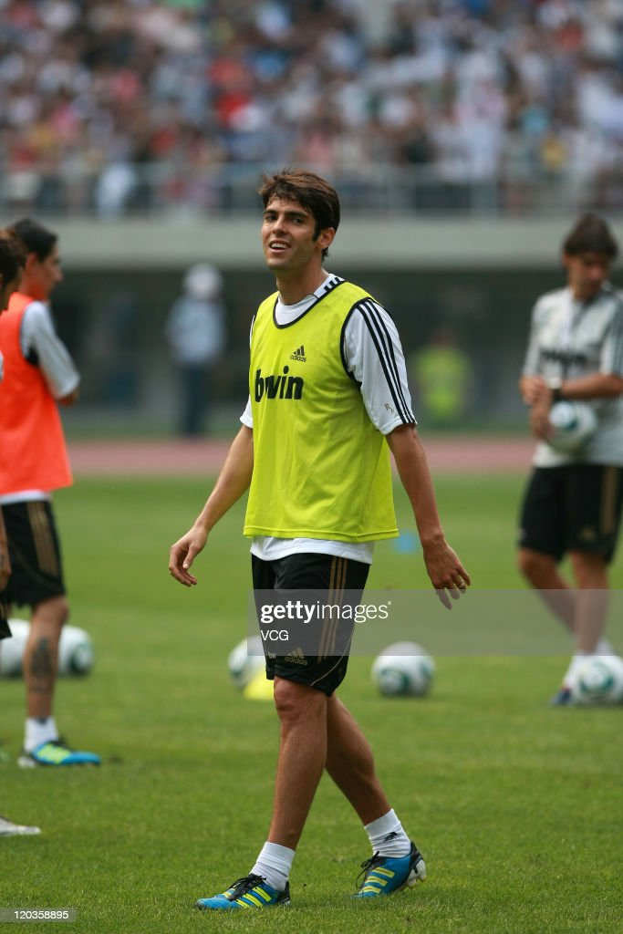 Real Madrid Training Session In Tianjin